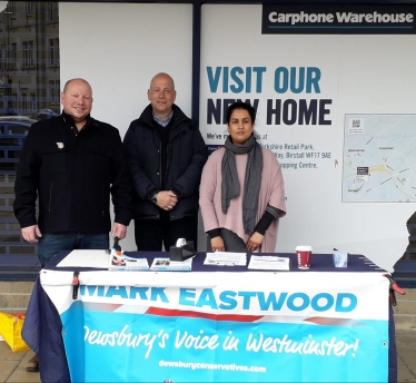 Mark Eastwood Dewsbury Street Stall